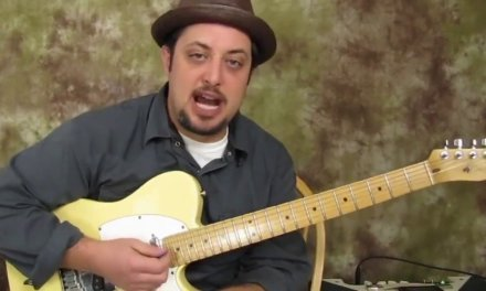 (Key of E) Blues Lick Trick in 3 easy steps, taught by Marty Schwartz