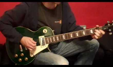 November 2009 – Blues Vamp Style – Lick of the Month – NYC Guitar School