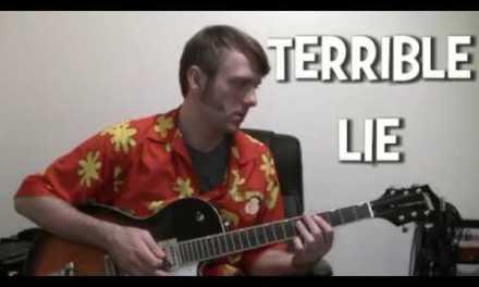 Nine Inch Nails Terrible Lie guitar tab & chords lesson