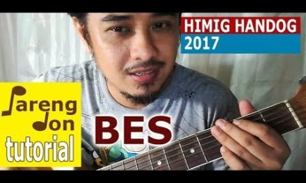 Chords ng 'Bes' sung by Migz Haleco – guitar tutorial