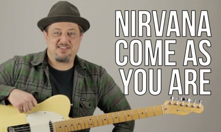 Nirvana – Come As You Are – Guitar Lesson – How to Play on guitar – Kurt Cobain