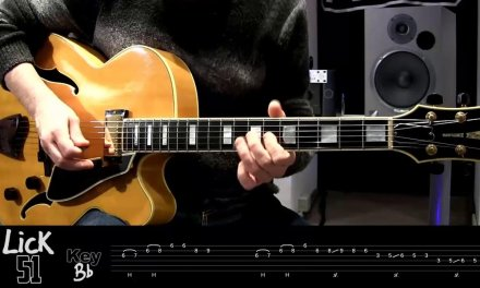 Andy's Lab – Daily Blues Licks #51 – Guitar Lesson
