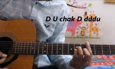 Lahore – Guru Randhawa – Hindi Guitar lesson chords tutorial With n Without capo