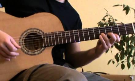 Cancion del Mariachi guitar lesson + TAB