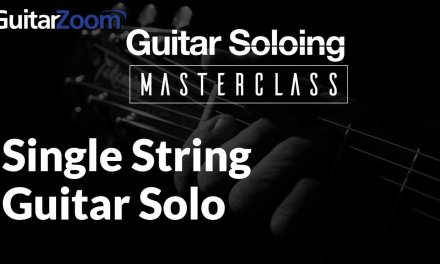 1 Must-Know Single-String Guitar Solo (Guitar Lesson)
