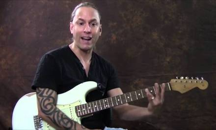 Connecting Moveable Chord Shapes With The CAGED System | Steve Stine | Guitar Zoom