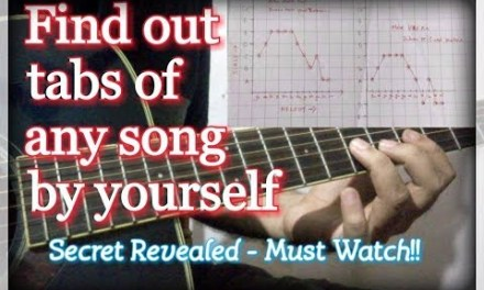 How To Find Tabs/Melody Of Any Song On Guitar By Yourself | Music Secret Revealed