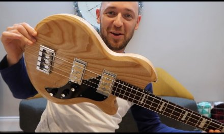 The coolest short scale bass EVER? (and it can be yours)
