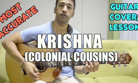 Krishna | Colonial Cousins | Guitar Cover + Lesson