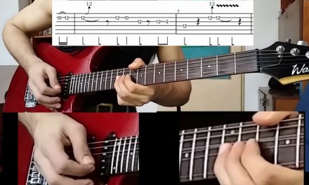 """""""Parisienne Walkways"""" by Gary Moore (intro solo lesson – easy version)"""