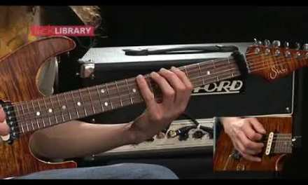 Guthrie Govan   Breaking out of Scale Boxes   Guitar Lesson