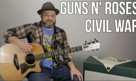 """How to Play """"Civil War"""" by Guns n' Roses on Guitar"""