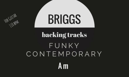 Funky Contemporary Guitar, Lead Instrument Backing Track  With Bass