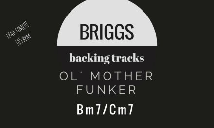 Laid Back Ol' Funk Lead, Guitar Backing Track with Bass