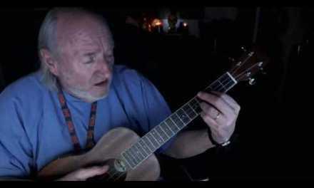 Open D Tuning, Baritone Ukulele Blues Chords, Simple Old Geezer Method, Uncle Raggy