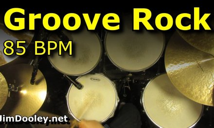Backing Track – Groove Rock Drum Beat 85 BPM