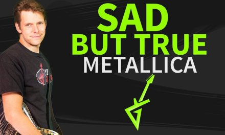 How To Play Sad But True Guitar Lesson #1 Metallica