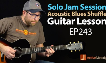 Have your own jam session in this solo Acoustic Blues Guitar Lesson – EP243
