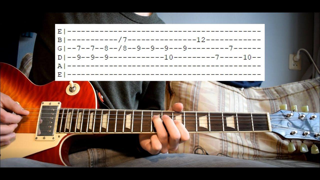King Krule Midnight 01 Deep Sea Diver Guitar Lesson The Glog
