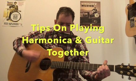 Pro tips on how to play Harmonica and Guitar at the same time, together.