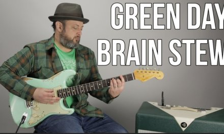 "How to Play ""Brain Stew"" by Green Day on Guitar"