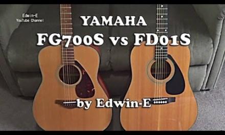 Guitar Comparison: Yamaha FG700S vs FD01S Acoustic Guitars