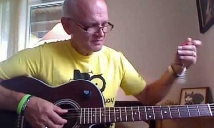 Cocaine Blues, J. Cash version, guitarlesson by Roger