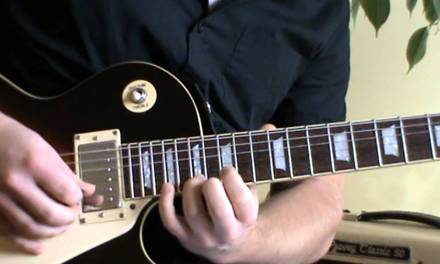 Sweet Home Chicago solo lesson with TAB
