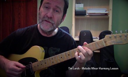 Tim Lerch  – Melodic Minor Harmony Lesson