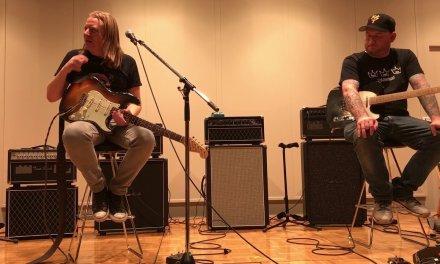 Mat schofield  & Josh smith guitar clinic @ Ginza Yamano music