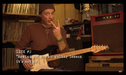 "Umphrey's McGee: ""Remind Me"" Guitar Lesson – Lick #2"