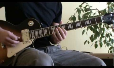 Stir It Up guitar solo cover with TAB