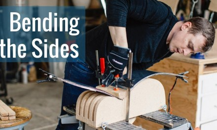 Bending the Sides (Ep 3 – Acoustic Guitar Build)