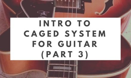 Intro to the CAGED System: Part 3 (C Major Scale Fingerings)