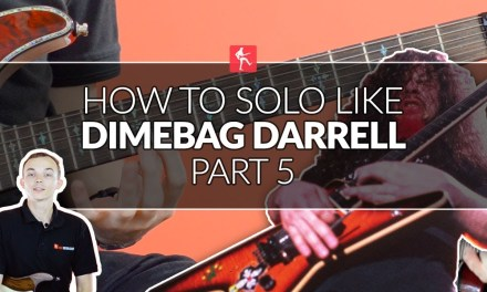 How To Solo Like Dimebag Darrell Part 5 – Guitar Lesson
