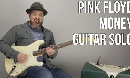 "How to Play the Solo to ""Money"" by Pink Floyd – David Gilmour Solo Lesson"