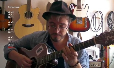 Outside woman blues (Clapton acoustic version) – Tuto guitare + TABS