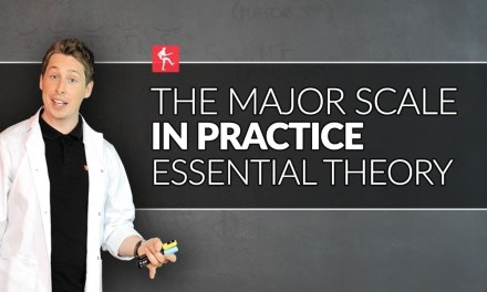 Essential Guitar Theory Lesson – The Major Scale In Practice