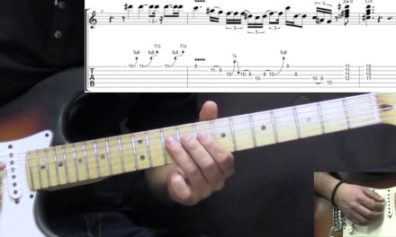 Stevie Ray Vaughan – The Sky Is Crying (Part 1) – Blues Guitar Lesson (w/Tabs)
