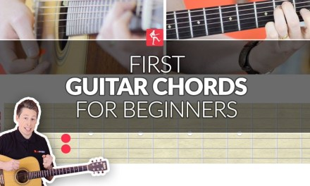 First Guitar Chords For a Total Beginner – Acoustic Guitar Lesson