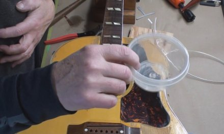 66 Year Old Gibson Guitar Gets Repaired Part 4