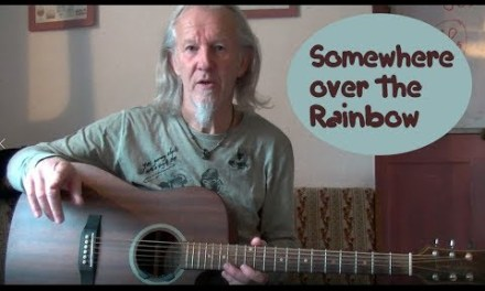 Somewhere Over The Rainbow – guitar lesson for beginners