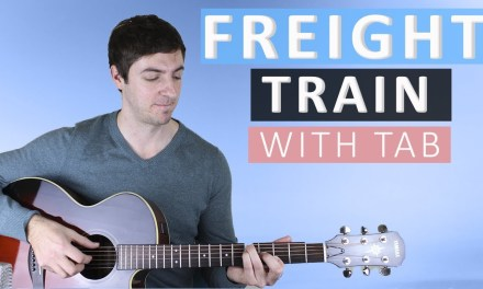 Freight Train by Elizabeth Cotten (Fingerstyle Guitar Lesson)