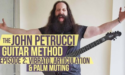 The John Petrucci Guitar Method  –  Episode 2: Vibrato, Articulation and Palm Muting