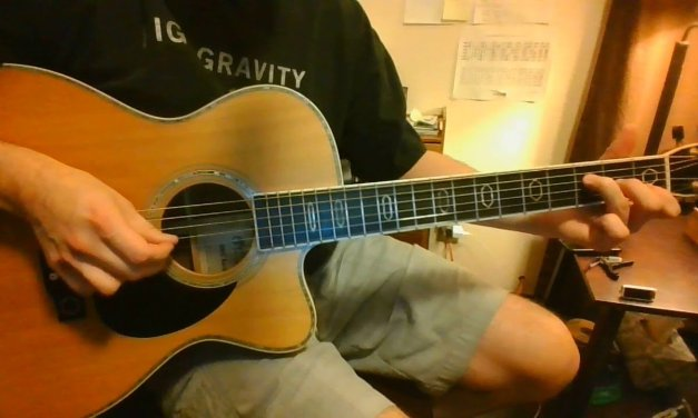 Human Nature Acoustic Guitar Lesson / Ideas Part 2