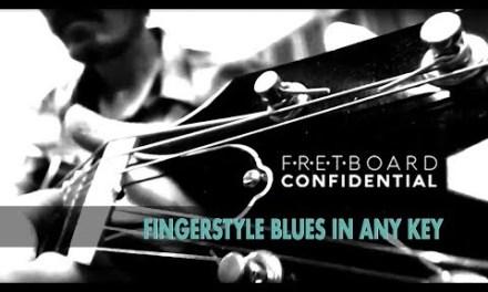 Fingerstyle Blues Guitar in Any Key