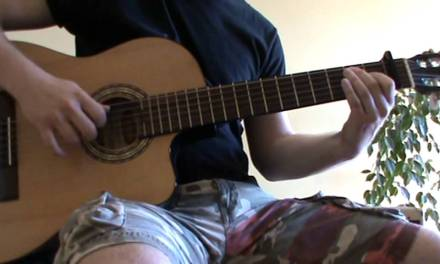 Heart Upon My Sleeve acoustic guitar cover with TAB – acoustic guitar lesson
