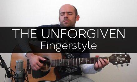 The Unforgiven (Metallica) – Acoustic Guitar Solo Cover (Fingerstyle)