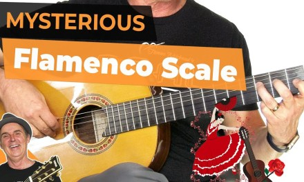 Spanish Flamenco Guitar Lesson | Mysterious Flamenco Guitar Scale