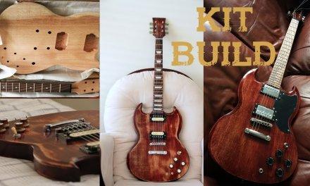 DIY Guitar Kit with upgrades!